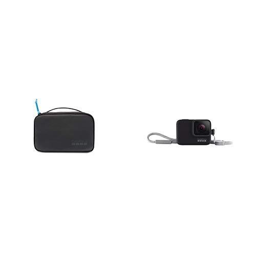 GoPro Kompakte Tasche (Offizielles GoPro-Zubehör) &  Hülle + Trageband (offizielles Zubehör) Schwarz