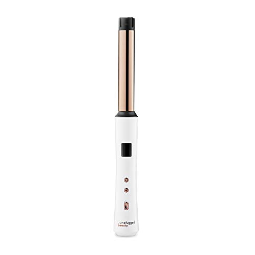 Unplugged Beauty Cordless Clipless Curling Wand