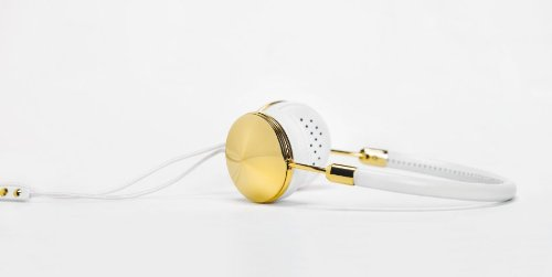 Frends Taylor G/W Taylor Headphones, Gold and White