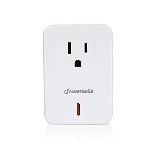 DEWENWILS Single Remote Control Outlet Receiver HRS101B-O without Remote (1 Programmable Outlet Receiver Only)