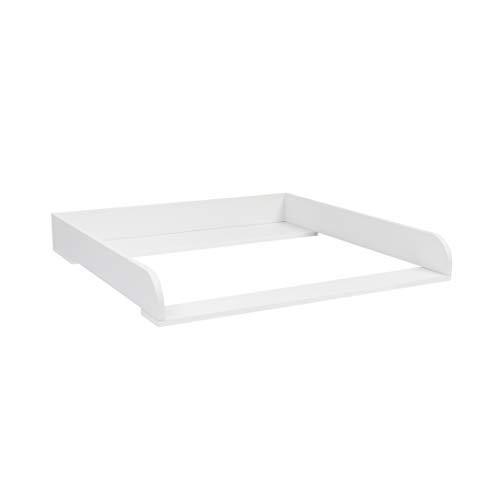 Puckdaddy Moritz Plan à langer en bois Blanc 80 x 78 x 10 cm Inclus: matériel de montage pour fixation murale.
