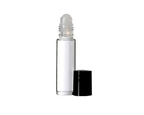 3PCS 10ml 0.34oz Recarga el rollo de cristal claro en botellas del...