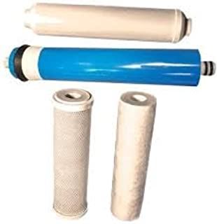 Universal 4-Stage Under Sink Reverse Osmosis Replacement Filter Kit by CFS