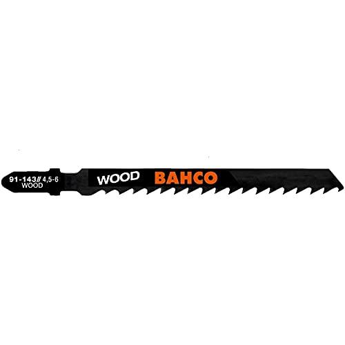 Jardiaffaires - Hoja de sierra de calar (madera y plástico, dientes invertidos 100 mm, 10 dientes/pulgada x 1 unidades)