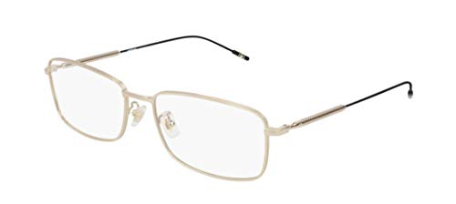 Montblanc Occhiale da Vista MB0047O 002 oro montatura metallo taglia 57 mm occhiale uomo