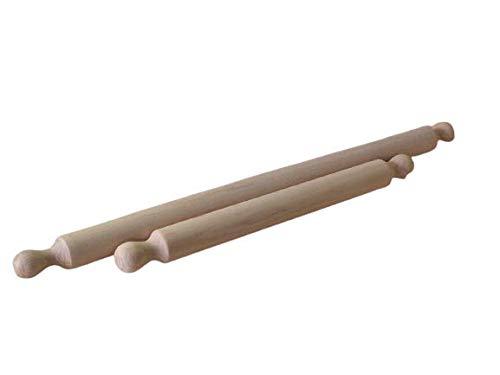Nudelholz mit zwei Griffen, Länge 70 cm E85/70