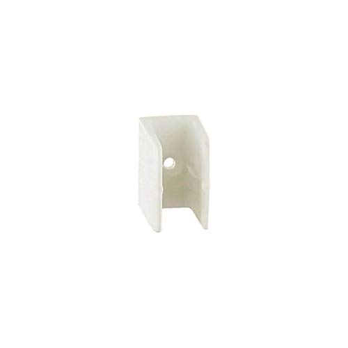Bloqueur clip - Décor : Blanc - Matériau : Polypropylène - RAL : 9010 - ITAR