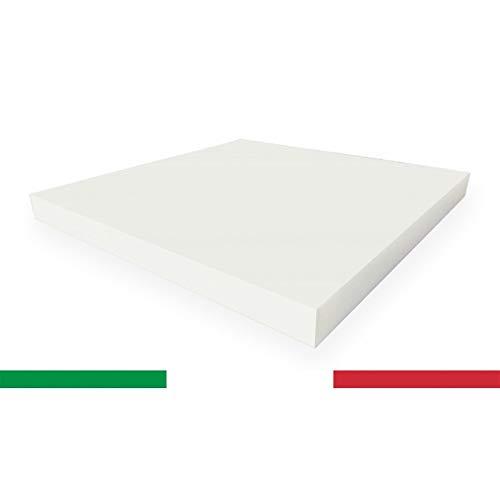 TENDEEVOLUTION Spugna GOMMAPIUMA Poliuretano espanso in Varie Misure Imbottiture per sedie panche lettini Varie densità 100% Made in Italy (DENSITA' 30, 5)