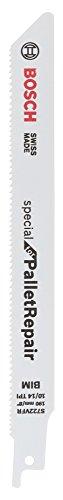 Bosch Professional Säbelsägeblatt S 722 VFR, Special für Pallet Repair, 190 mm, 0,9 mm, 5-er Pack, 2608658027