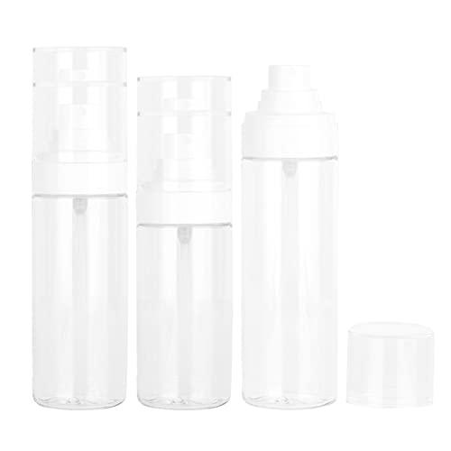 CUTULAMO Recipiente de líquido, atomizador de Niebla insípido no tóxico Botella sin BPA Seguro de Usar para aceites Esenciales Aromaterapia, Aerosoles faciales, tónicos
