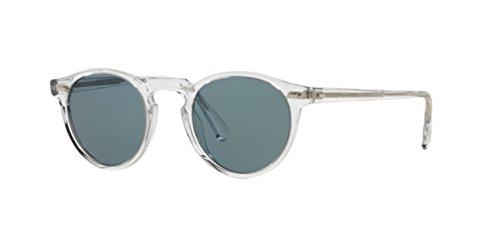 Price comparison product image New Oliver Peoples OV 5217 S Gregory Peck Sun 1101R8 Crystal / Crystal Indigo Sunglasses