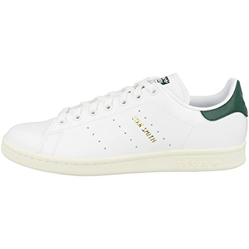 adidas Stan Smith, Scarpe da Ginnastica Uomo, Ftwr White/Collegiate Green/off White, 44 EU