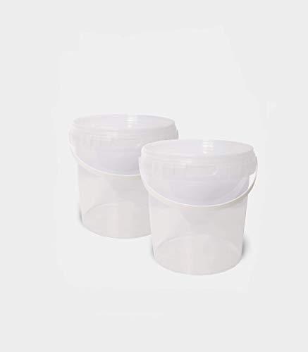 Vorratsbehälter 2er oder 4er Set 1,18L, Aufbewahrungsbehälter, Frischhaltedose, Eisbehälter, Gefrierdose, Aufbewahrungsdose, BPA-frei