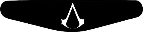 Play Station PS4 Lightbar Sticker Aufkleber Assasions Creed (schwarz)