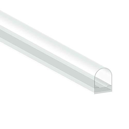 Kraus Premium Duschdichtung selbstklebend [1x 2000mm] - für Glastüren ab 8 mm Glasstärke - wasserabweisende Duschtürdichtung für ihre Duschkabine oder als Gummilippe einer Duschtür aus Glas
