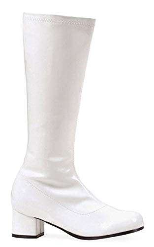 Ellie Shoes 1.75″ Heel Children's Gogo Boot. S WHT