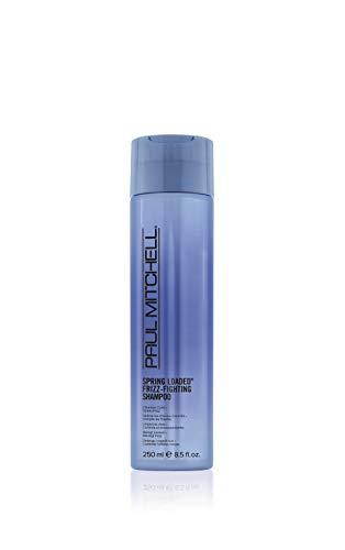 Paul Mitchell Spring Loaded Frizz-Fighting Shampoo - Haar-Reinigung für Locken und welliges Haar, sulfatfreies Shampoo mit Anti-Frizz Effekt, 250 ml