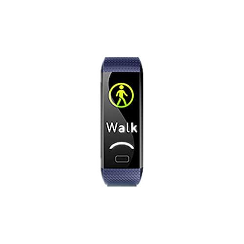 Qingsm Pulsera inteligente inteligente inteligente ejercicio presión arterial monitor de ritmo cardíaco impermeable fitness reloj inteligente pulsera