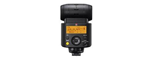 Sony HVL-F45RM externer Blitz mit kabelloser Funksteuerung (drahtlos, LED-Licht für Fotos und Videos) schwarz