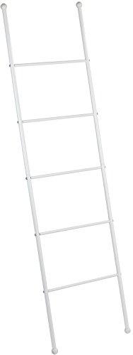 Wenko Viva Escalera-Toallero, Acero, Blanco, 3.5x43x156.5 cm