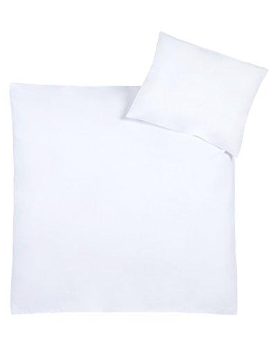 Julius Zöllner Parure de lit - Taille: 100 x 135 cm / 40 x 60 cm, Couleur: blanc