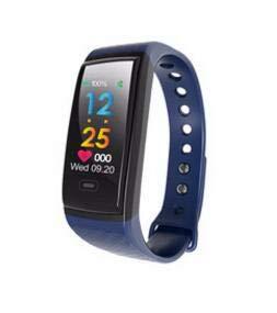 Wallfire Fitness-Tracker IP67 Wasserdicht Smart Armband Armband Herzfrequenz Blutsauerstoff-Monitor Farbbildschirm Smartwatch für Männer & Frauen