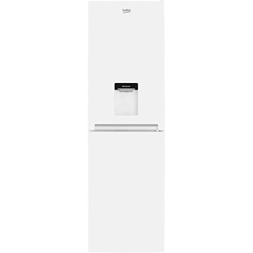 Beko CFG3582DW 50/50 Frost Free Fridge Freezer - White - A+ Rated
