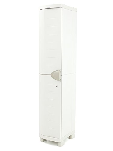 Plastiken M258512 - Taquilla 4 estantes Space Saver 184 x 35 x 45 cm