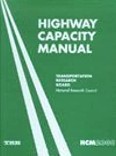 Highway Capacity Manual: 2000 (U. S. Customary Units)