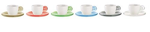 Fratelli Guzzini Gocce, Set 6 Espressotassen, SMMA|Porcelain