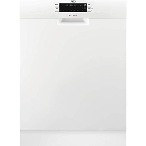 AEG FFB53940ZW Freestanding Dishwasher with Airdry Technology, 14 place settings, White