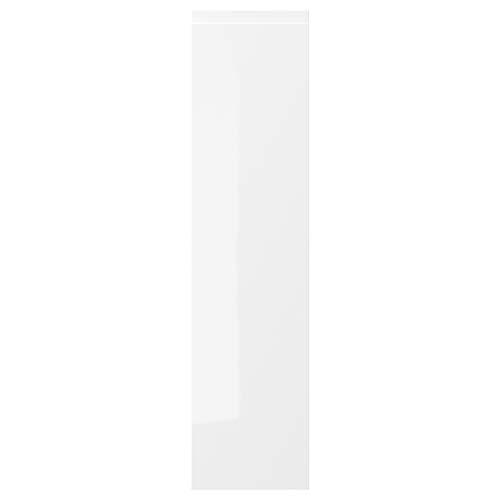 Puerta VOXTORP 20 x 80 cm blanco brillante