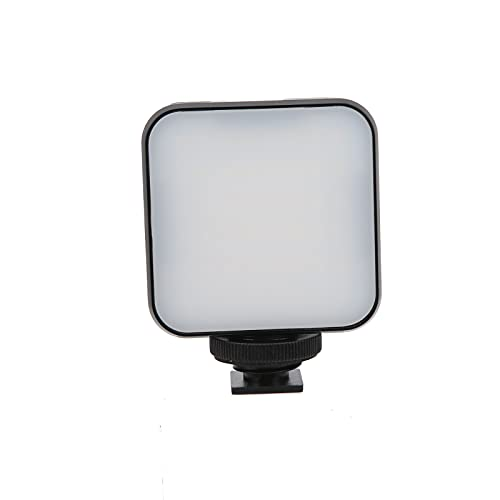 BOTEGRA Luz de Relleno LED de vlogging, el Brillo de la Pantalla Interfaz de Zapata Universal Mini luz de Relleno LED para teléfono Inteligente para Interiores