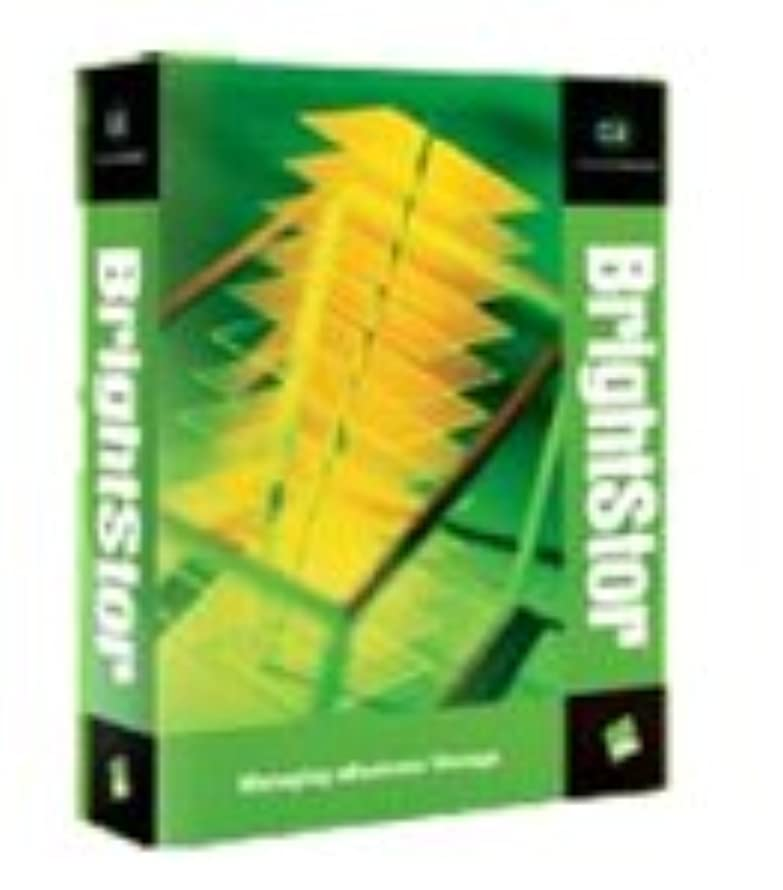 枯渇するタブレット資料BrightStor ARCserve Backup v9 Agent for