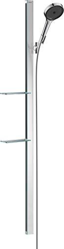Hansgrohe Rainfinity Ensemble de douche 130 3jet avec barre de douche 150 cm et porte-savon chromé