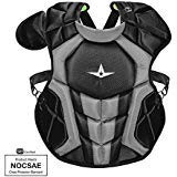 All-Star CPCC1216S7XBK S7 Axis Chest Protector/Meets NOCSAE/Ages 12-16 BK