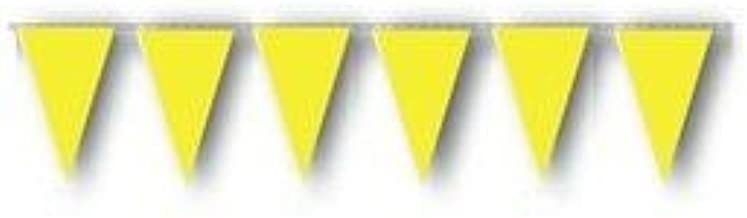 Tape Planet Yellow OSHA Pennant Flags 10 Strand Case