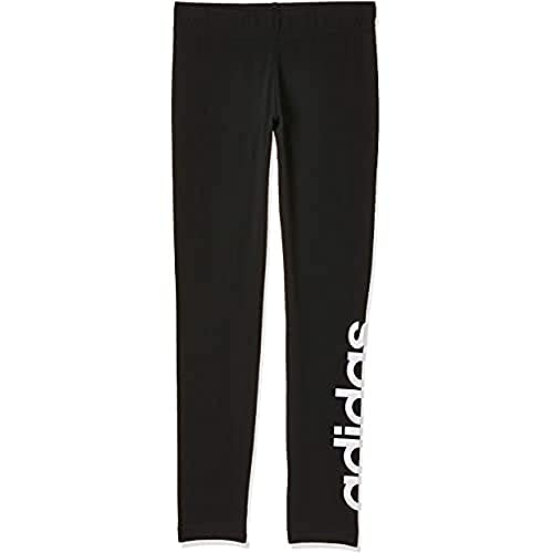adidas adidas Mädchen Tights Essentials Linear, Black/White, 134, DV0337