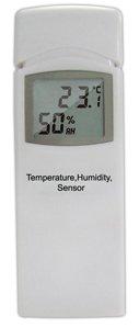 froggit Funk Thermometer Ersatz- Erweiterungs Thermo-Hygrometer Funksensor (Luftfeuchtigkeit, Temperatur) DL5000