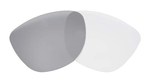 オークリー フロッグスキン 交換用 レンズ 偏光 調光 クリア OAKLEY FROGSKIN REPLACEMENT LENS POLARIZED PHOTOCHROMIC CLEAR 社外レンズ (PHOTOCHROMIC/クリアグレー調光)