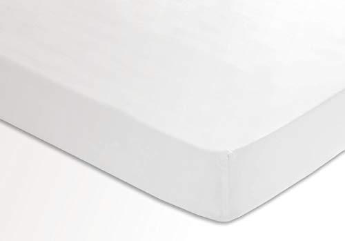 Sedalinne Sábanas HOTELES - Bajera Ajustable Calidad 200 Hilos. Percal 100% algodón. Cama 150 cm