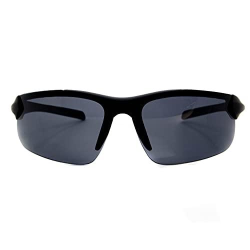 Óculos De Sol Masculino Esportivo Ciclismo C/ Proteção Uv400 (All Black)