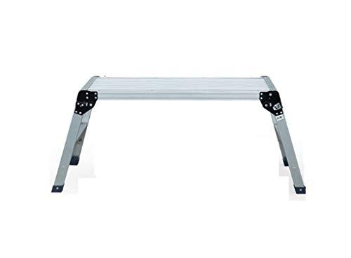 GUOXY Multifunktions-Hocker Sitzbank, Haushalt Dicke Aluminiumtrittschemel Folding Plattformleiter Pferd Bank Ladder,# 2