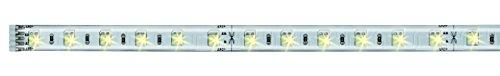 Paulmann 70630 MaxLED Tunable White LED Strip beschichtet LED Stripe 1 m Lichtstreifen 7W Lichtband mit Weißlichtsteuerung LED Band