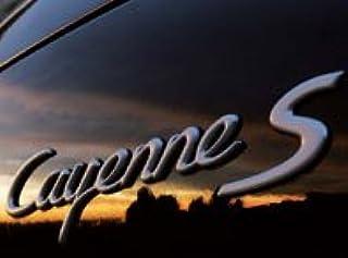 Cayenne - Silver Rear Badge (Cayenne Turbo S)