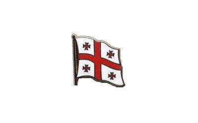 Flaggen-Pin/Anstecker Georgien vergoldet