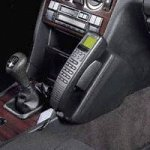 Kuda Phonebase Konsole DB W202/Mercedes C-Klasse Lederkonsole für DB W202/C-Klasse Bj\'93