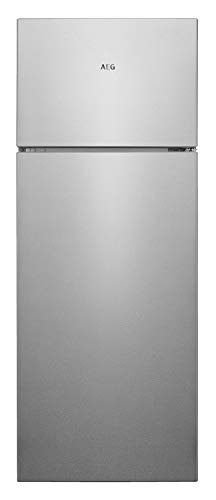 AEG RDB424E1AX Frigocongelatore LowFrost Due Porte, Capienza 164 l, Altezza 1434 mm, Grigio(Inox)