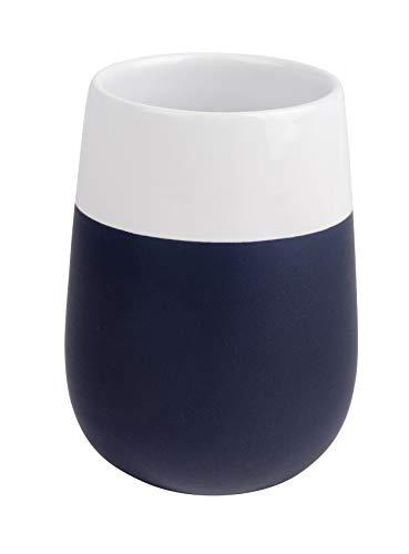 Wenko Vaso para cepillos de Dientes Malta de cerámica en Color Azul...