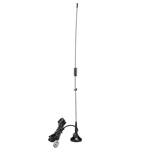 YOUTHINK UT-106UV BNC Dualband U + UKW-Antenne für ICOM YAESU für Kenwood für BAOFENG Radio N7W3 Antennenverstärkung